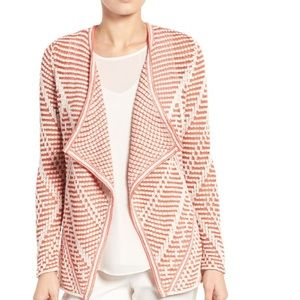 NIC+ZOE Diamond Knit Cardigan